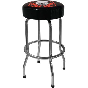 Skull 30.5 Bar Stool by On The Edge Marketing