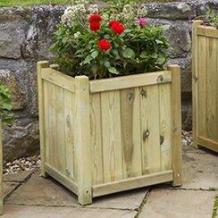 Randy Wooden Planter Box