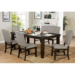 Twanna 6 Piece Drop Leaf Dining Set