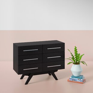 Crayton 6 Drawer Double Dresser by Hashtag Home