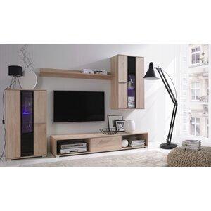 Wohnwand für TVs bis zu 72