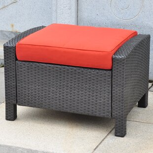 Katzer Ottoman with Cushion by Brayden Studio