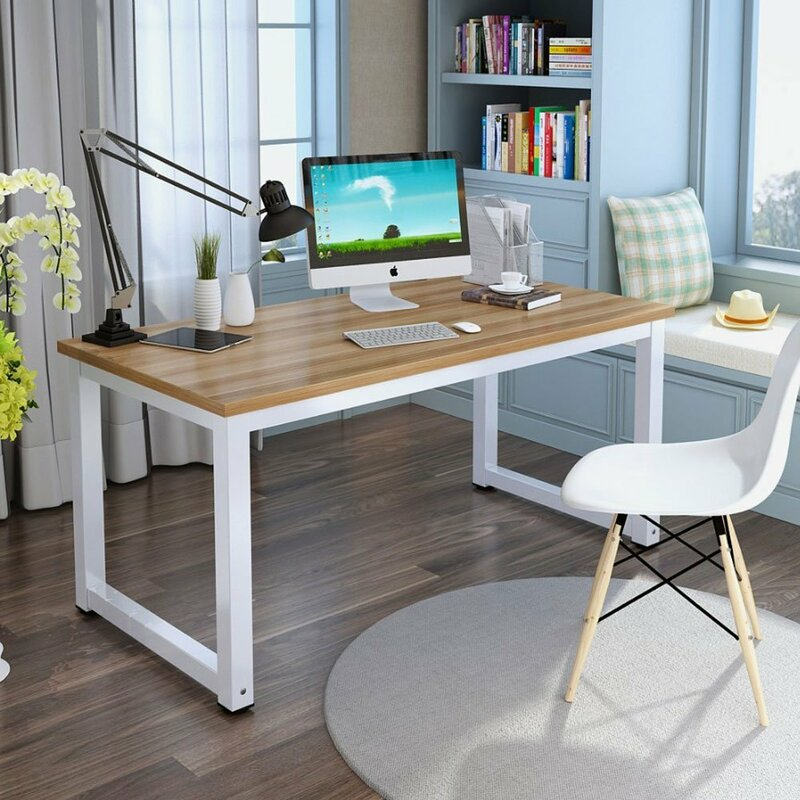 "Ebern Designs Capson Writing Desk To 55"" Large Computer"