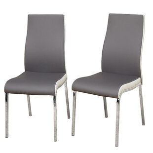 Latitude Run Salerno Upholstered Dining Chair (Set of 2)