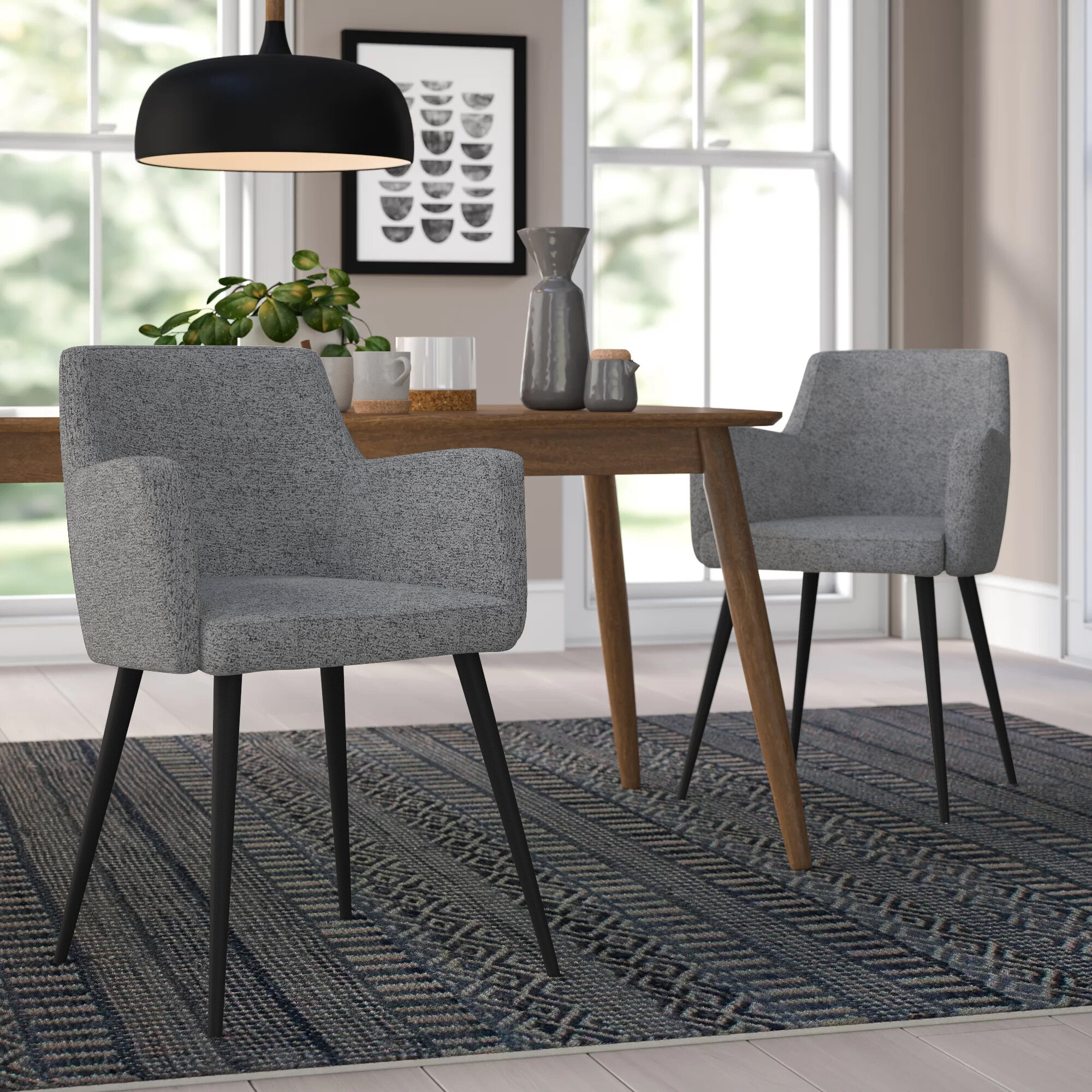 "Green Spotted Design /""Flecks/"" Chenille Heavy Upholstery Fabric"