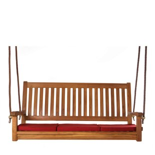 Humphrey Teak Porch Swing with Stand