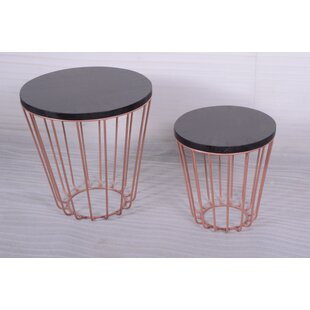 Charlene 2 Piece Nesting Tables