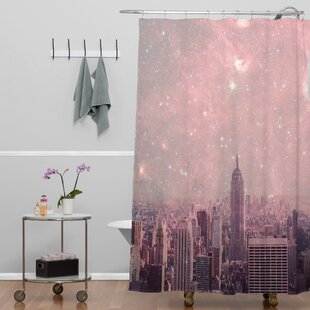 Bianca Green Covering Stardust New York Single Shower Curtain