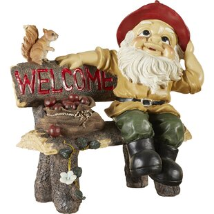 Welcoming Garden Gnome Statue by Zingz & Thingz