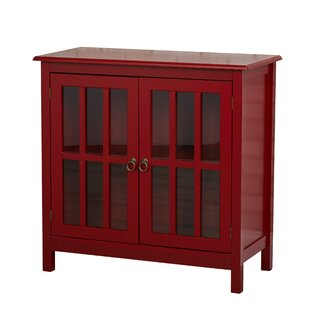 Beachcrest Home Purdue with Wooden Top 2 Door Accent Cabinet
