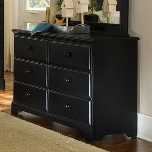 Midnight 6 Drawer Standard Dresser/Chest