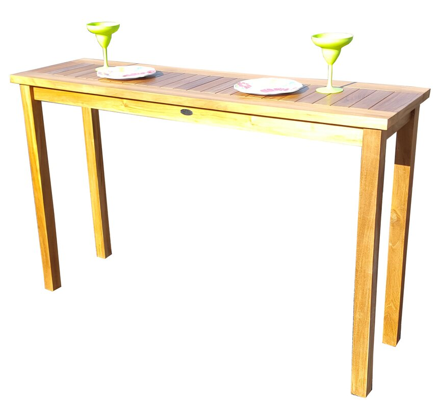Santa Monica Teak Console Table