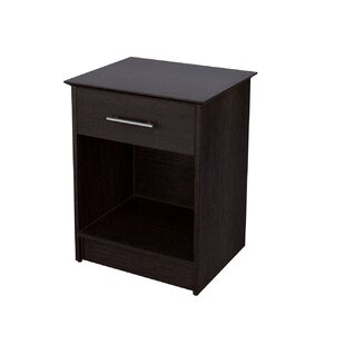 Eden 1 Drawer Nightstand
