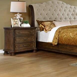 Ultimate Accents 3 Drawer Nightstand