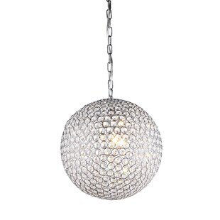 Syracuse 4-Light Crystal Chandelier by Ho..