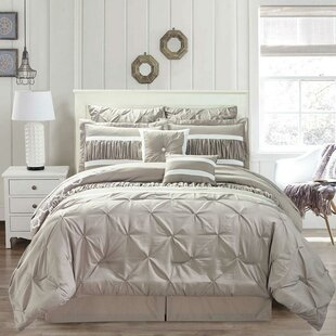 Driden 8 Piece Reversible Comforter Set by House of Hampton