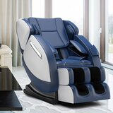 Faux Leather Power Reclining Heated Full Body Massage Chair