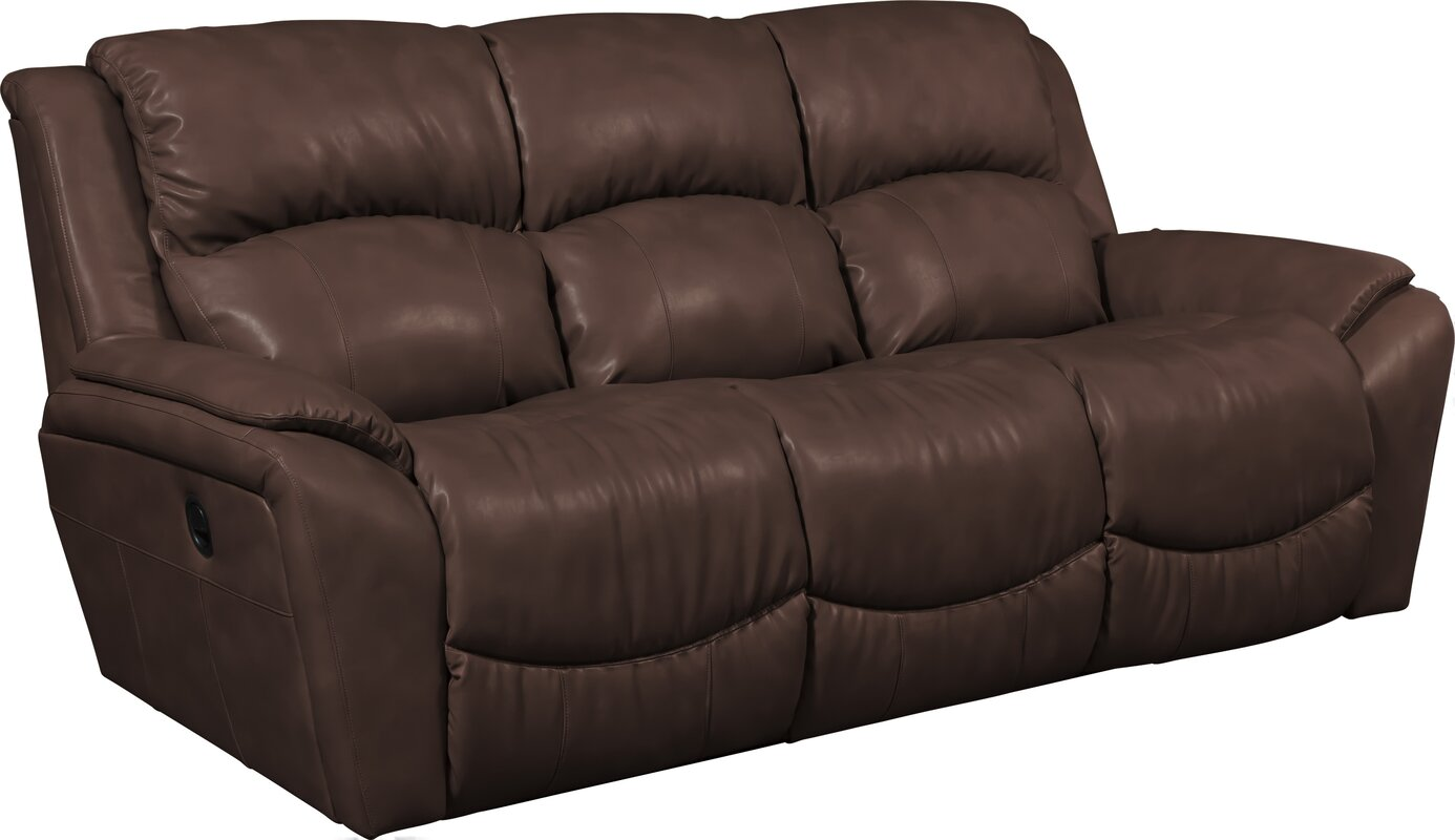 Barrett Leather Reclining Sofa