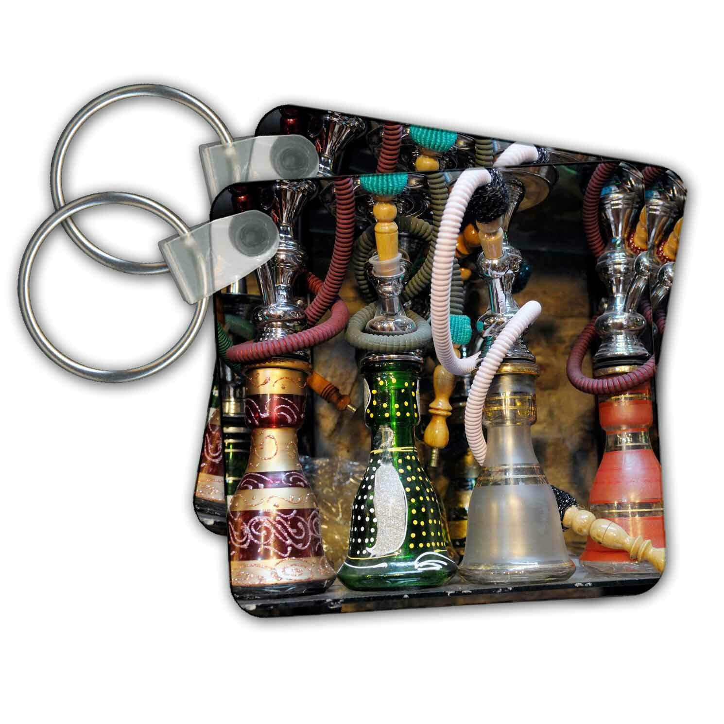 3drose Spain Andalusia Granada Moroccan Hookahs For Sale In A Small Shop Key Chain Wayfair