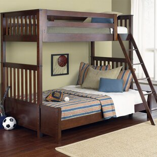 Best Choices Middlesbrough Middlewich Twin Over Twin Bunk Bed by Harriet Bee Reviews (2019) & Buyer's Guide