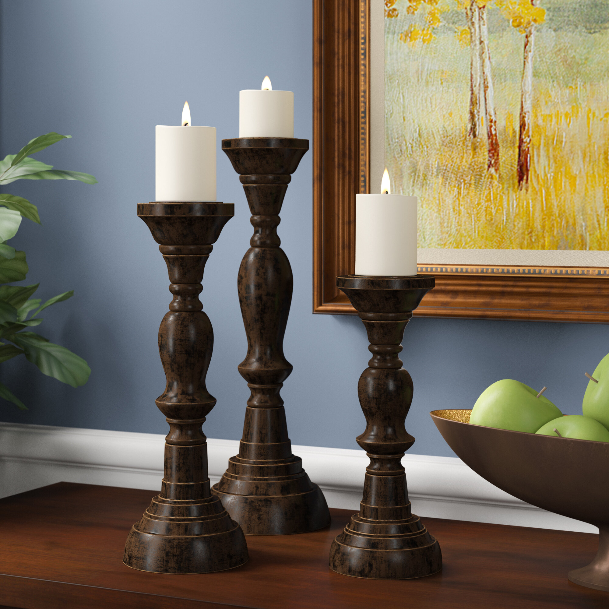 Prime Set Of 3 Candle Holders Youll Love In 2019 Wayfair Interior Design Ideas Gentotryabchikinfo