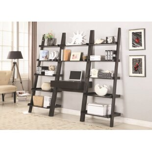 Melodie Ladder Desk with Bookcases