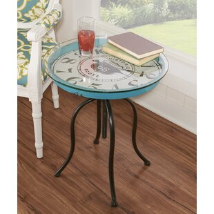 Mailiah Clock End Table