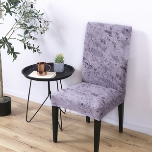 Spandex Fabric Stretch Box Cushion Dining Chair Slipcover (Set of 4)