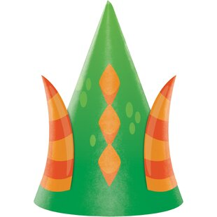 Dragon Hat Paper Disposable Party Favor (Set of 24)