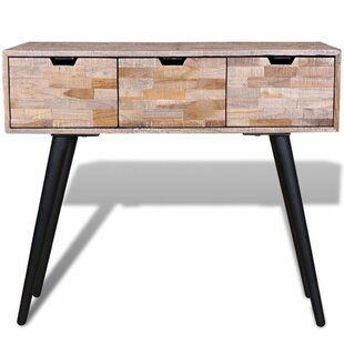 Aaron Reclaimed Teak Console Table By Mercury Row