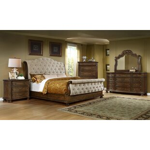 Altom Queen Sleigh 4 Piece Bedroom Set