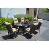 Poulsbo 7 Piece Dining Set with Cushions