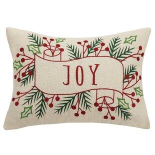 Clarendon Joy Embroidered Lumbar Pillow