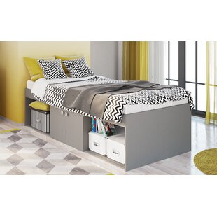 Albie Single Convertible Toddler Bed By Harriet Bee