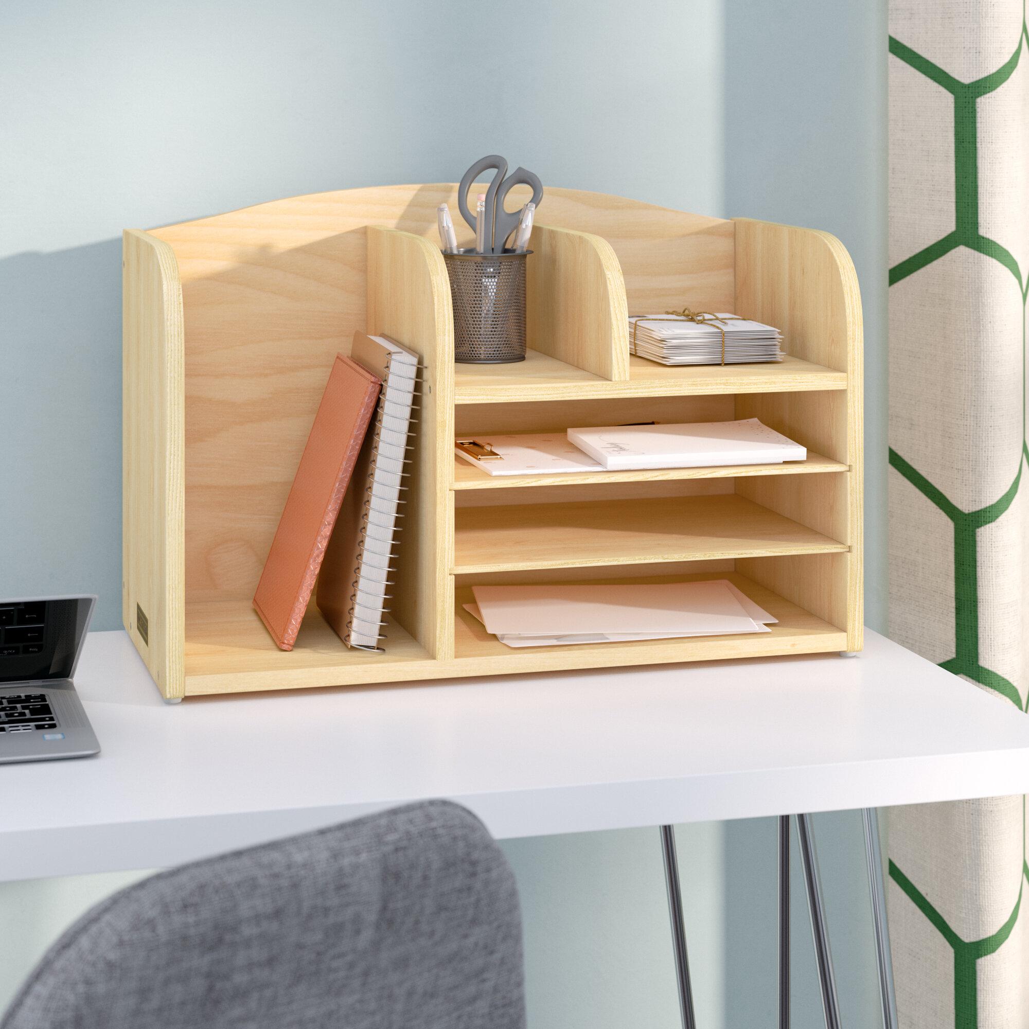 High Desk File Organizer