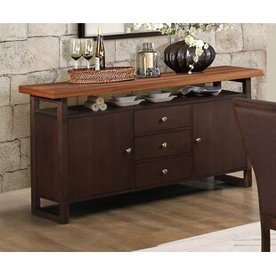 Cassian Dual Tone Wood Buffet Table by Latitude Run