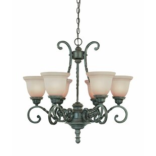 Astoria Grand Westerleigh 6-Light Shaded Chandelier