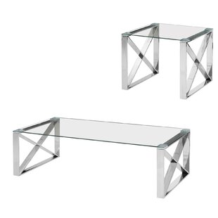 Zachariah 2 Piece Coffee Table Set