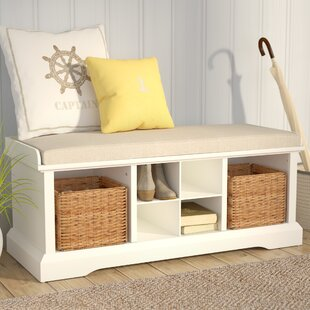 Douglas Upholstered Storage Bench by Beachcrest Home
