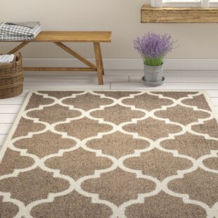 Priebe Lattice Brown/Ivory Indoor/Outdoor Area Rug