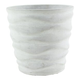 Urban Wave Ceramic Pot Planter