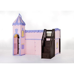 Lyric Princess Loft with Stairs By Harriet Bee