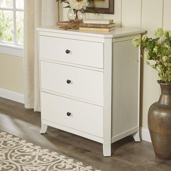 Aaryahi 3 Drawer Bachelor's Chest by Birch Lane™