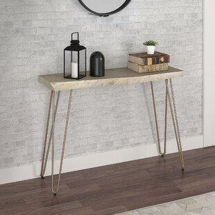 Spurlin Acacia Wood Console Table