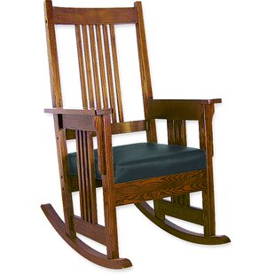 Oriental Furniture Rocking Chair