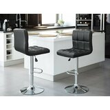 Renea Swivel Adjustable Bar Stool (Set of 2)