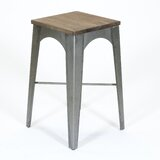 Messina 27 Bar Stool by 17 Stories