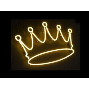 Crown Neon Wall Light By Latitude Run