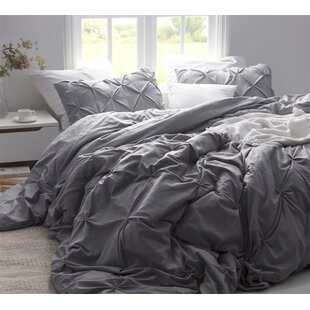 Hewitt Pin Tuck Single Duvet Cover