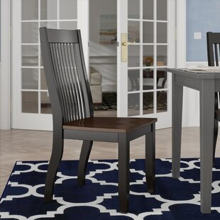 Griffey Solid Wood Dining Chair (Set of 2) by Three Posts